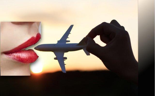 ¿La boca está hecha para hablar sobre aviación?