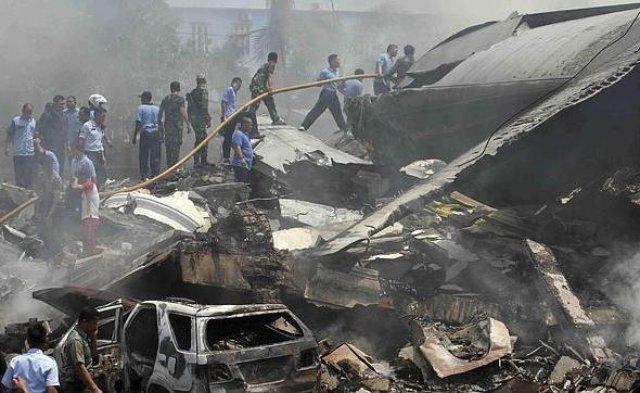 Accidente de avión militar en Indonesia, no afectó a uruguayos