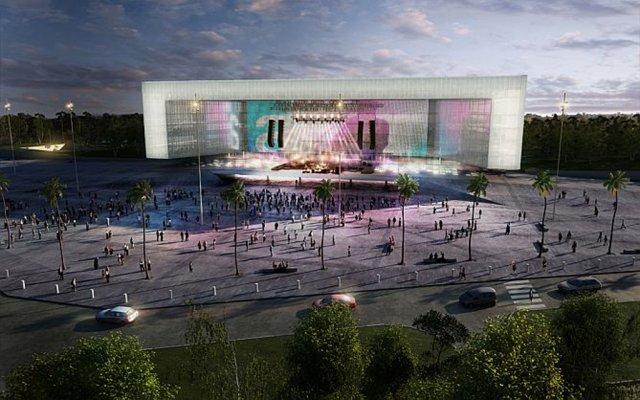 Uruguay: suspenden obras del Antel Arena