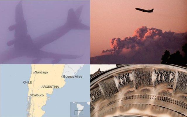 La ceniza volcánica puede ser letal para los aviones
