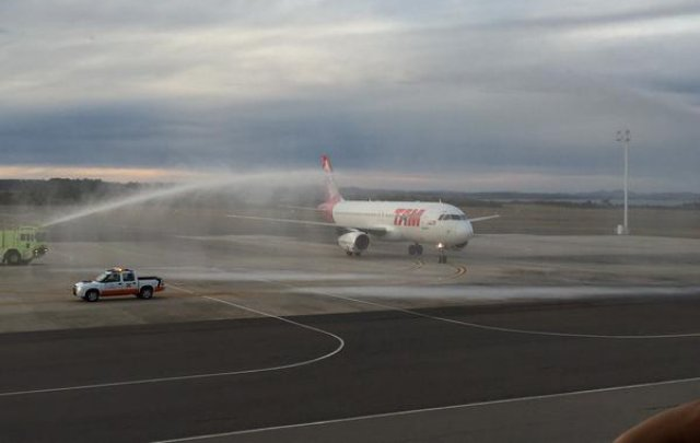 Llegó a Punta del Este primer vuelo de TAM desde San Pablo