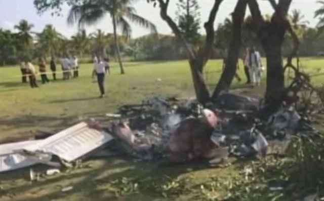 Mueren siete personas al caer avioneta en República Dominicana