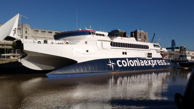 Gran apuesta de Colonia Express, el Atlantic Express en Colonia
