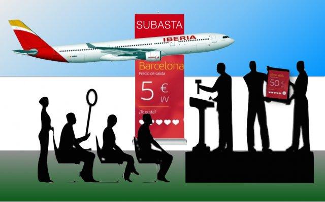 Iberia remata las tarifas en sus vuelos