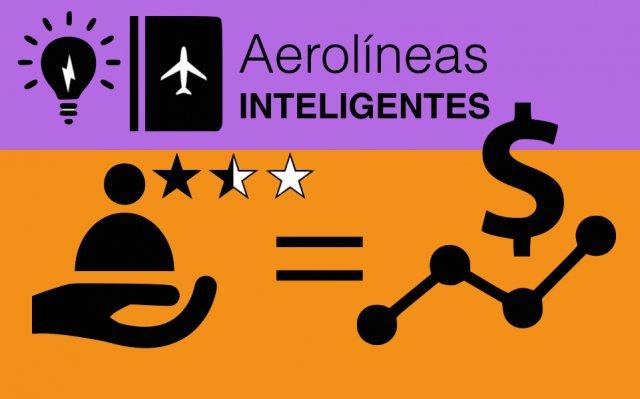 Aerolíneas inteligentes personalizan la experiencia de usuario