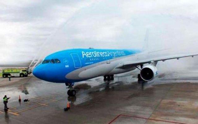 El nuevo Airbus A330 llegó a Aerolíneas Argentinas